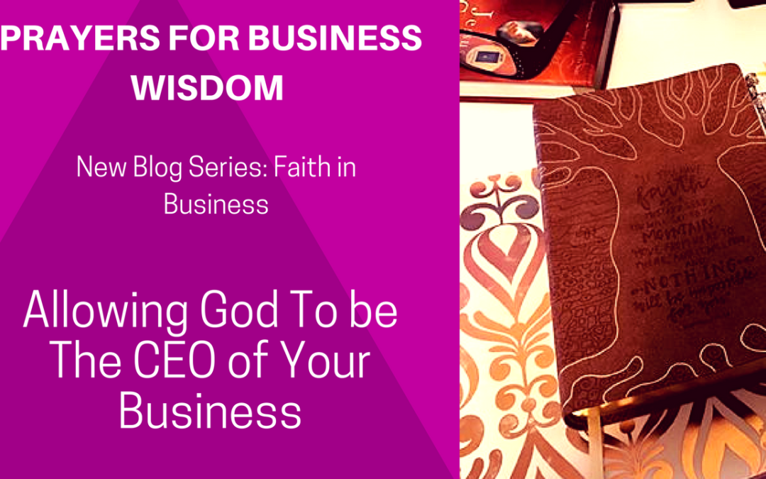 Prayers for Business Wisdom