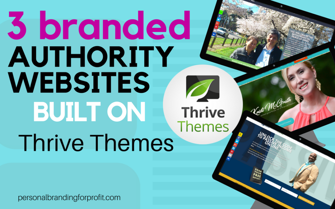 3 'Lead Converting' Network Marketing Websites Built on Thrive Themes Squared Theme