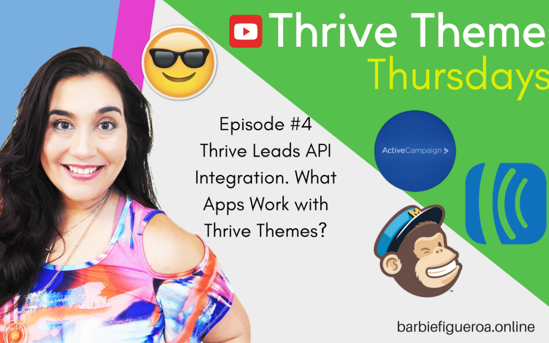 What Applications Connect with Thrive Leads? | Thrive Leads API Connections and Integrations